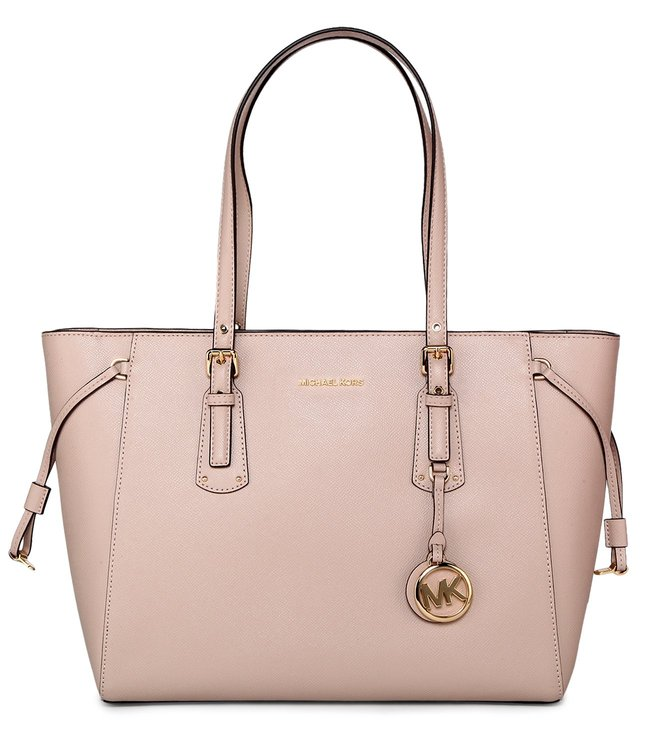 52822aa309da Buy MICHAEL Michael Kors Voyager Soft Pink Medium Leather Totes for ...
