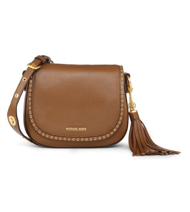 0a87ab25434cf6 Added to Bag. Michael Michael Kors Brooklyn Luggage Medium Saddle Bag
