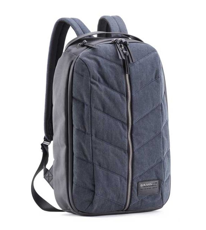 fc519a1b1bbf Buy Diesel Blue Denim Group Backpacks for Men Online   Tata CLiQ Luxury