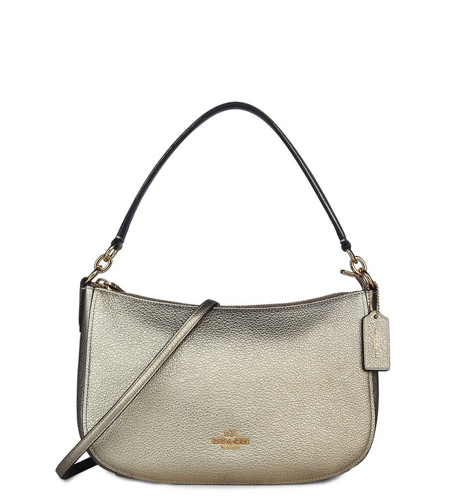 a18fdd8f9b7a1 Buy Coach Platinum Chelsea Leather Crossbody Bag for Women Online ...