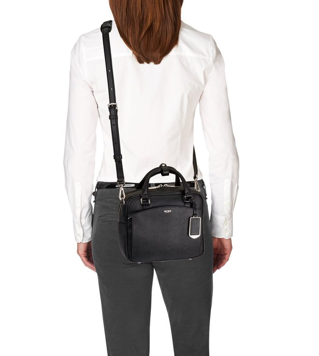 03ea9b6aa Buy Tumi Black Sinclair Aidan Crossbody Bag for Women Online @ Tata ...