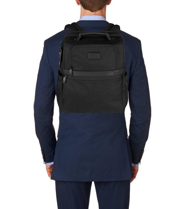 18fa1c41d4 Buy Tumi Black Alpha Ballistic Business Slim Solutions Brief Pack ...