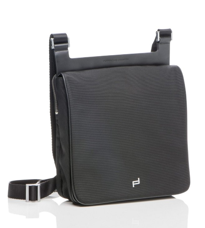d504b01eaa28 Buy Porsche Design Black Shyrt Nylon Crossbody Bag For Men Online