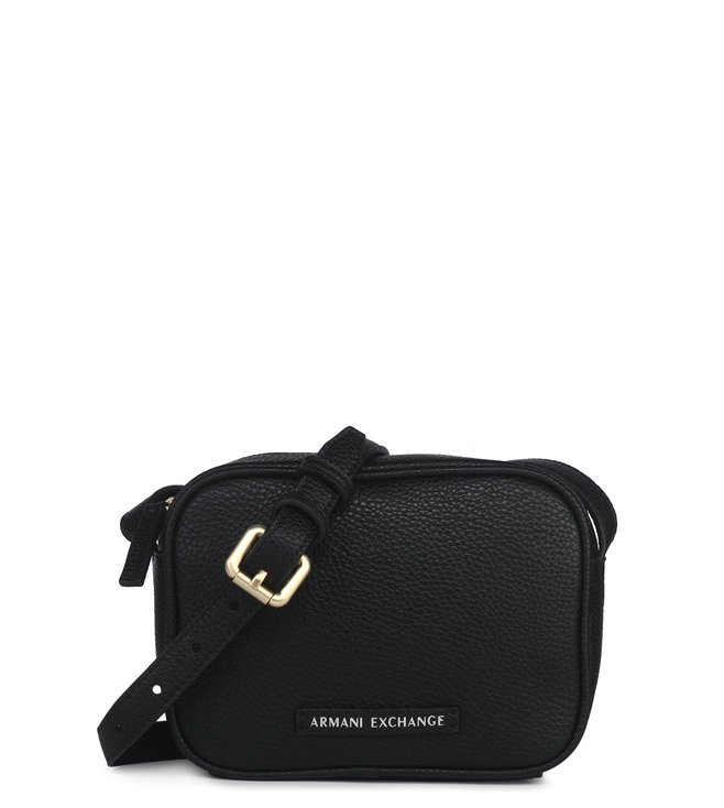 22135fc4338e Buy Armani Exchange Nero Box Crossbody Bag for Women Online   Tata ...
