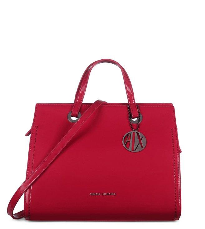e0da2ff02ef8 Buy armani exchange lollipop medium reversible satchel for women jpg  658x734 Armani exchange satchel