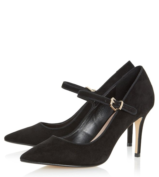 abab1e82558 Buy Dune London Black Abbey-Road Mary Jane for Women Online @ Tata ...
