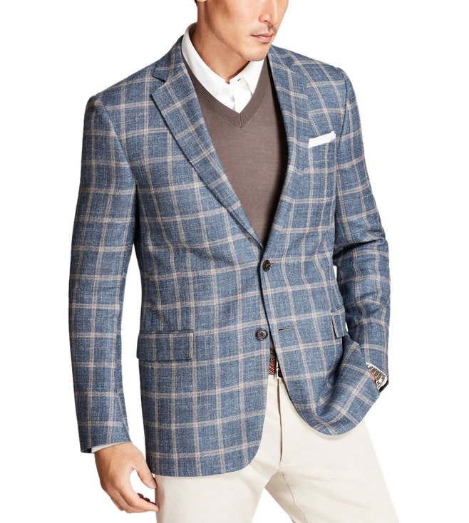 Brooks Brothers Light Blue Regent Fit Sport Coat