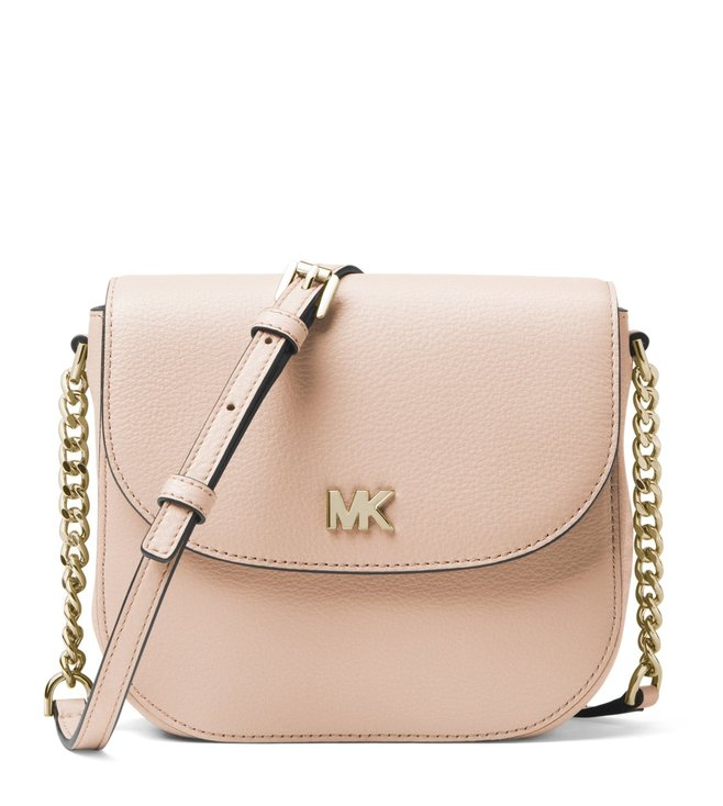 cc1996f075e6 Added to Bag. MICHAEL Michael Kors Soft Pink Mott Leather Cross Body Bag