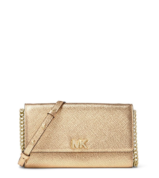 002bc2d828a8 Buy MICHAEL Michael Kors Pale Gold Mott Small Crossbody Bag for ...