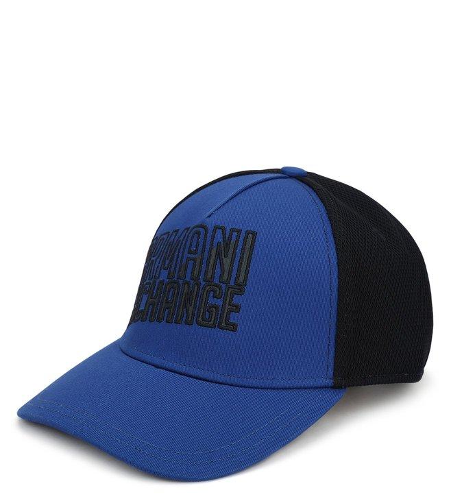 Armani Exchange Spectrum Blue Printed Sports Baseball Cap