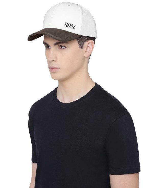 ac353f3f9d3 Buy Hugo Boss Natural 15 Baseball Cap for Men Online   Tata CLiQ Luxury