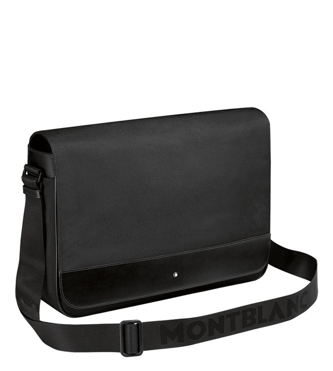 fbeb3933344c Buy Montblanc Black Nightflight Cross Body Bag for Men Online   Tata ...