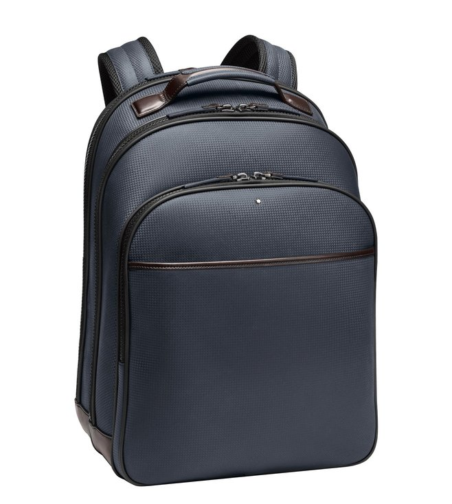 0fa29fbdd435 Buy Montblanc Blue Extreme Large Backpack for Men Online   Tata CLiQ ...