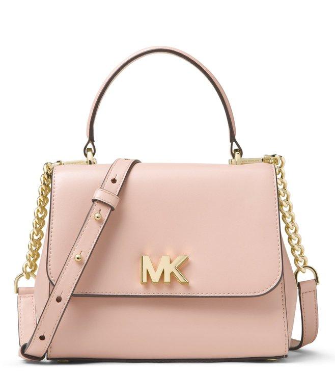 182f07c2dd8c Added to Bag. MICHAEL Michael Kors Soft Pink Mott Small Leather Satchel