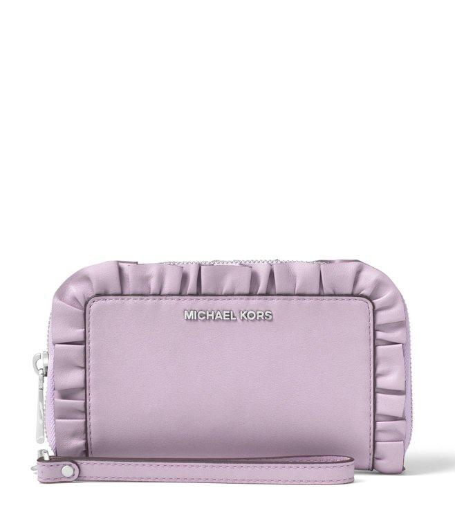 323f7eb513c7a4 Buy MICHAEL Michael Kors Purple Small Wristlet for Women Online ...