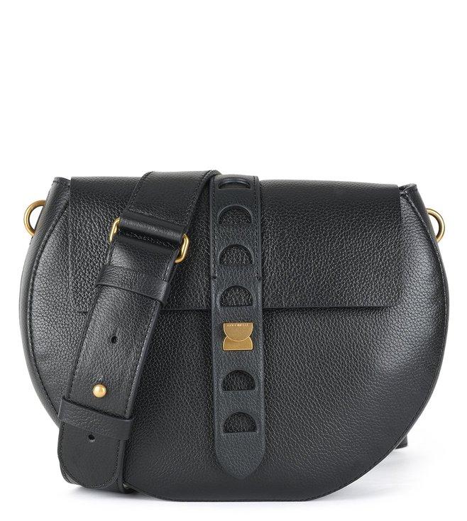 170b25e469 Buy Coccinelle Noir Textured Carousel Cross Body Bag for Women ...