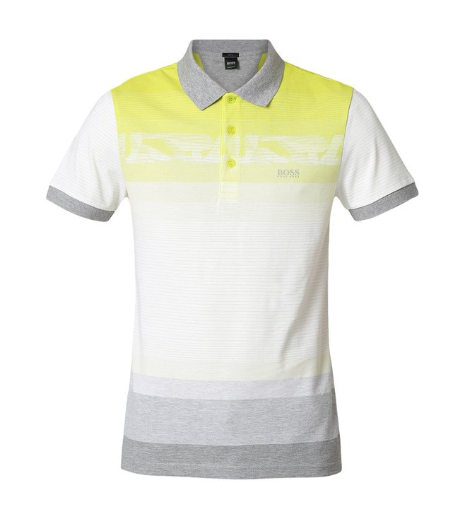 b42c83564 Buy Hugo Boss Bright Yellow Paule 6 Athleisure Polo T-Shirt for Men ...