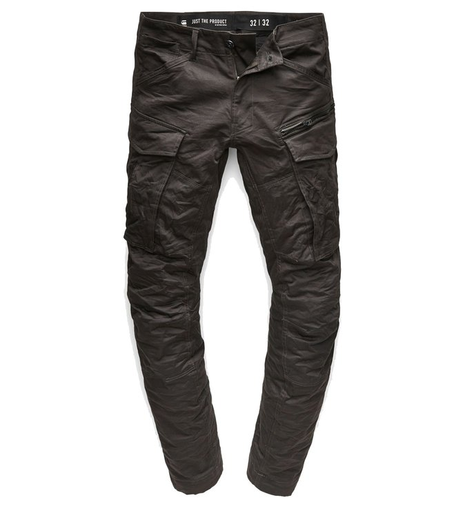 e53fd277f3c Buy G-Star RAW Black Rovic Zip 3D Tapered Fit Cargo Pants for Men ...
