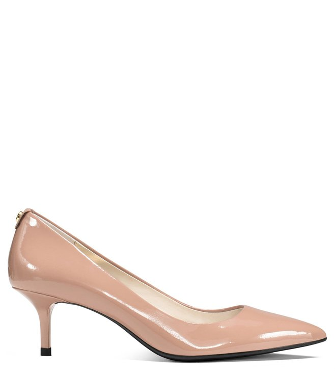 7db17a017446 Buy MICHAEL Michael Kors Light Blush Leather Kitten Heel Pumps for ...
