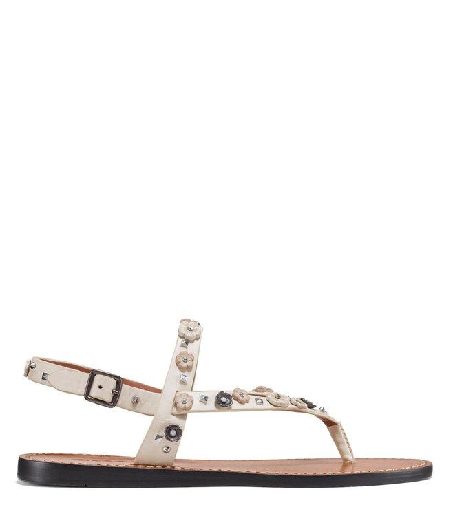 b7afbac4c9 Buy Coach Chalk Hudson Tea Rose Sandals for Women Online @ Tata CLiQ ...