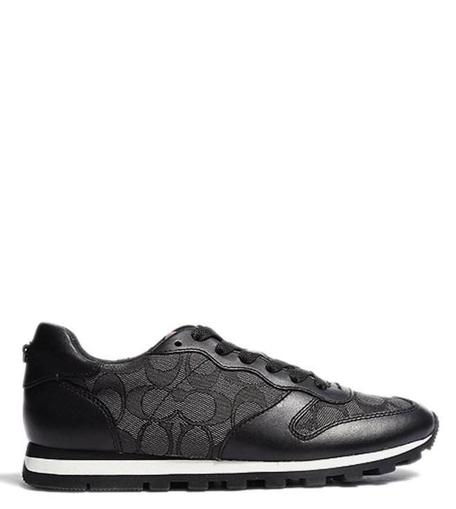 C125 Smoke Signature Black For Buy Sneakers Runner Coach Women PkOiZXu