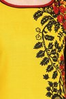 Varanga Mustard & Red Printed Kurta With Pants