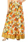 Soch Multicolor Floral Print Skirt