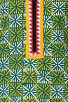 Soch Green & Yellow Printed Cotton Kurta