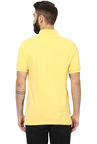 Red Tape Yellow Half Sleeves Polo T-Shirt