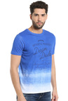 Killer Dark Blue Slim Fit Henley T-Shirt