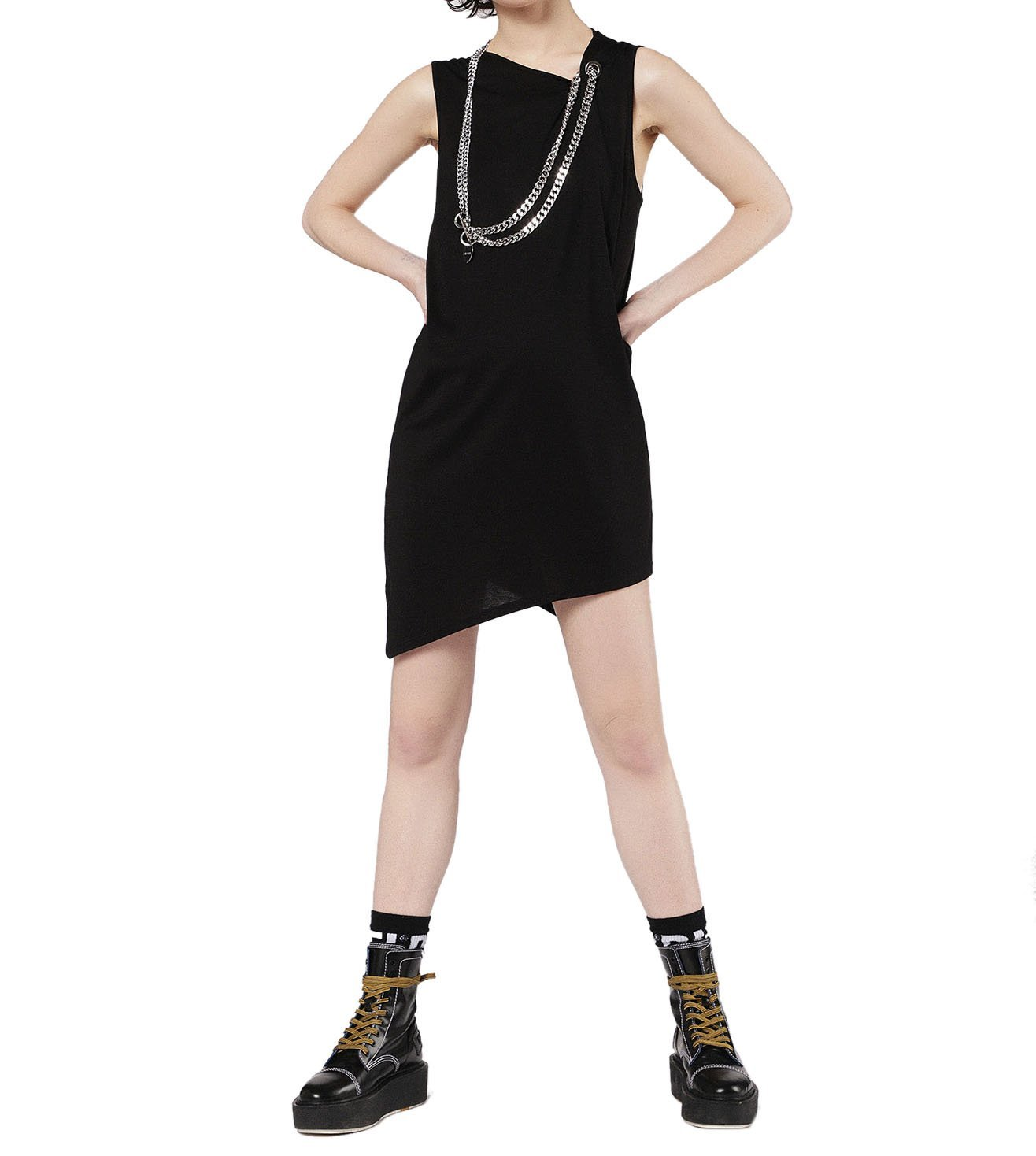 DIESEL BLACK D-ADRIE ABITO DRESS