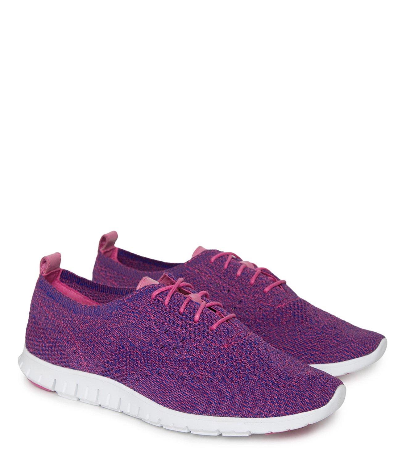 Buy Cole Haan Blue Zerogrand Sneakers