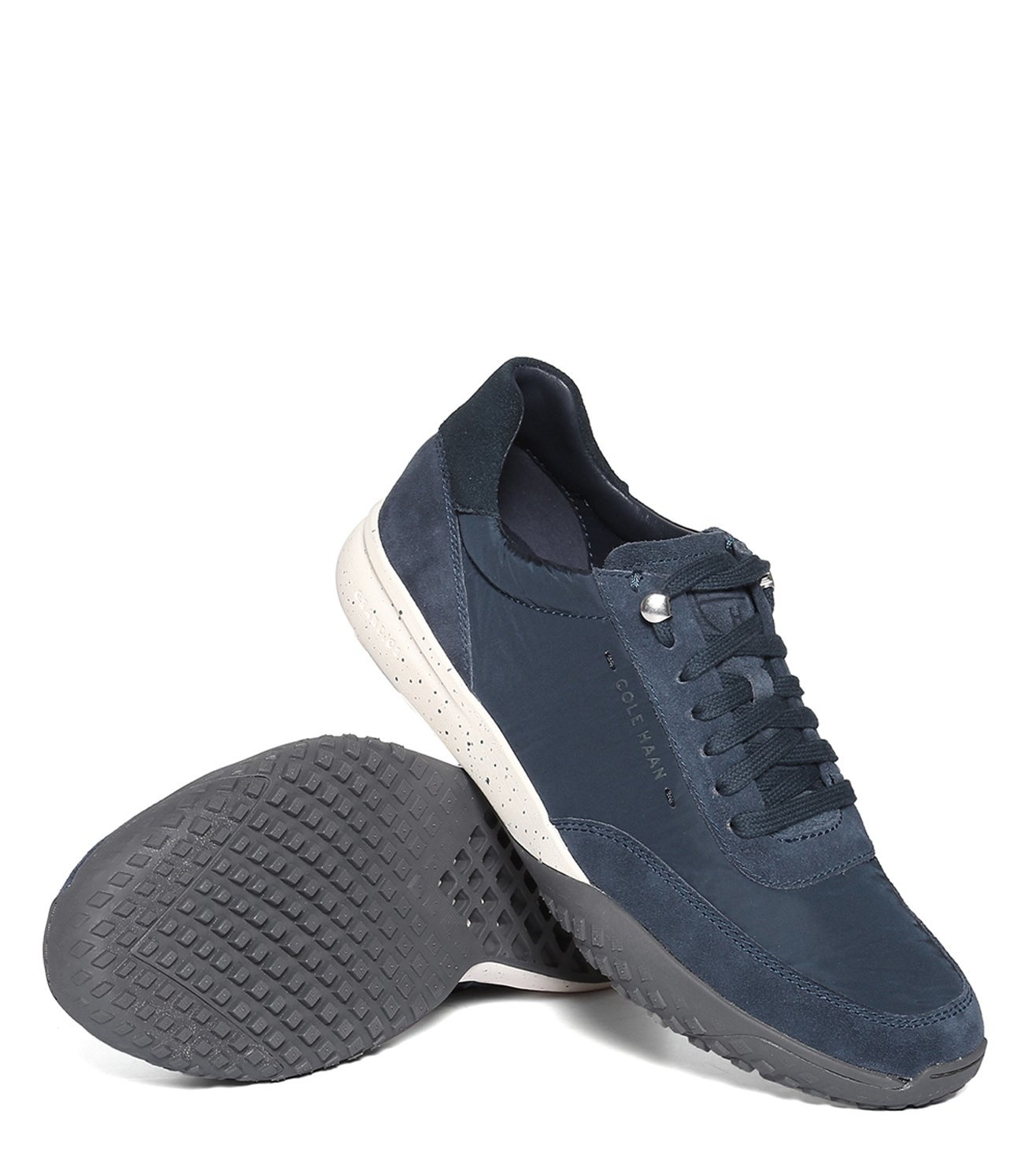 Cole Haan Navy Grandpro Trail Sneakers