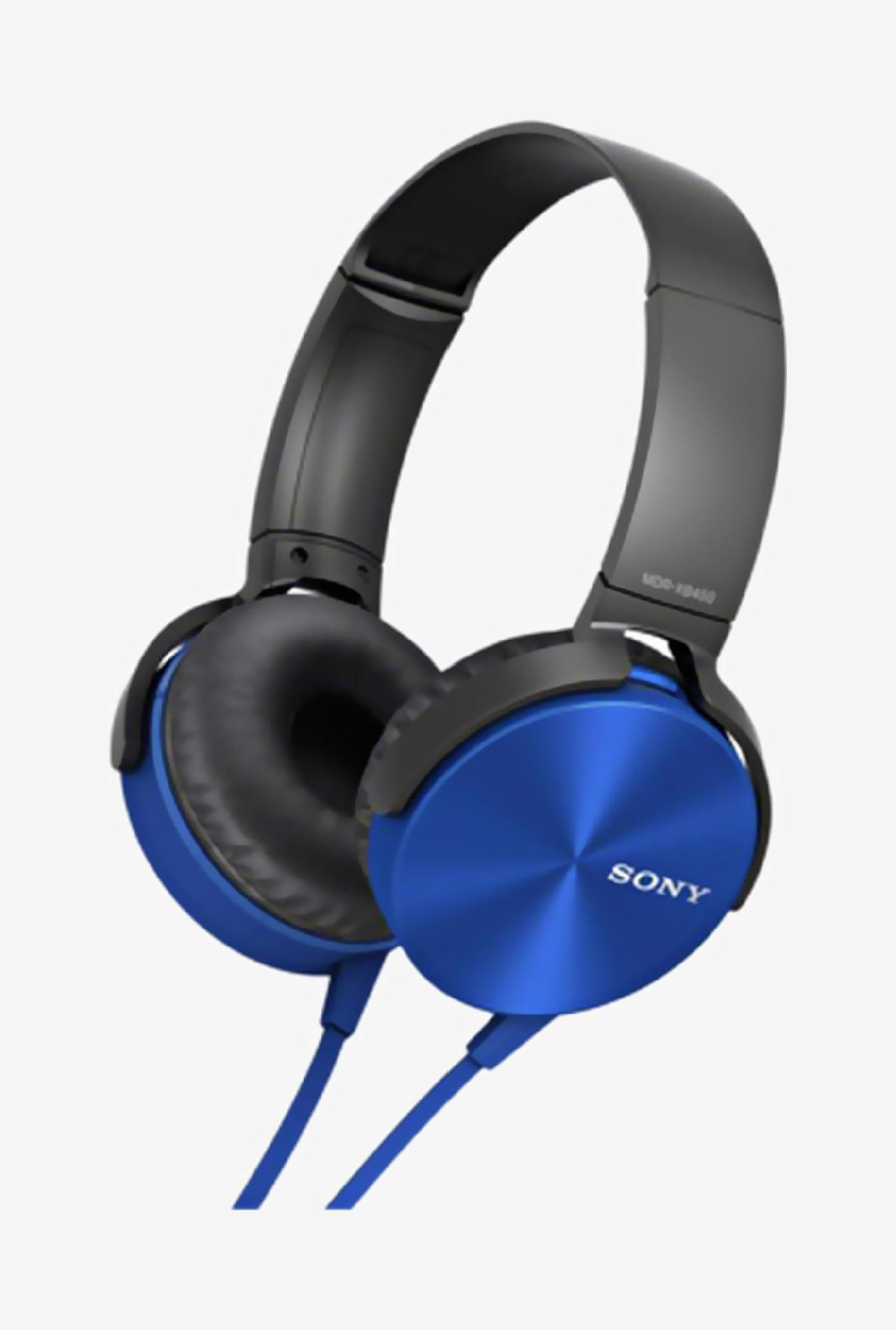 Sony MDR-XB450/L Headphone (Blue)