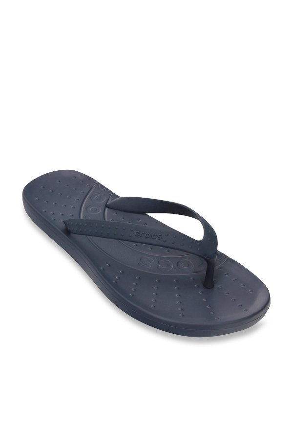 Crocs Chawaii Navy Flip Flops