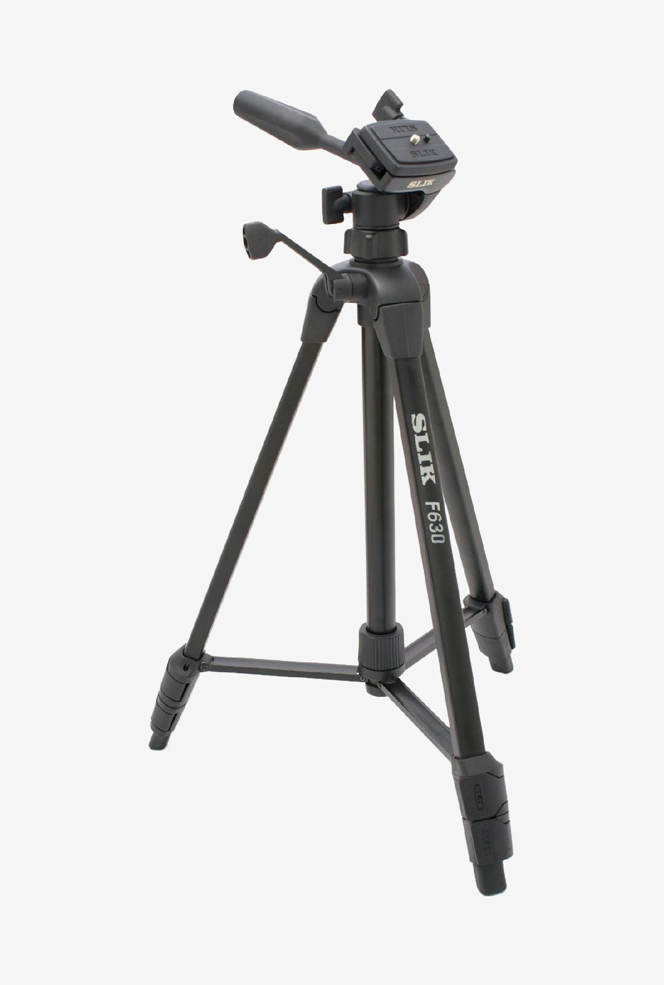 Slik F630 3-Way Panhead Tripod  Black