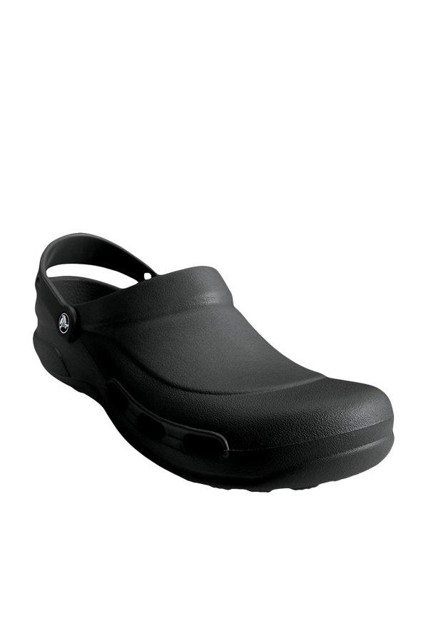 ce843cafae8c41 Buy Crocs Specialist Vent Black Clogs Online at best price at TataCLiQ