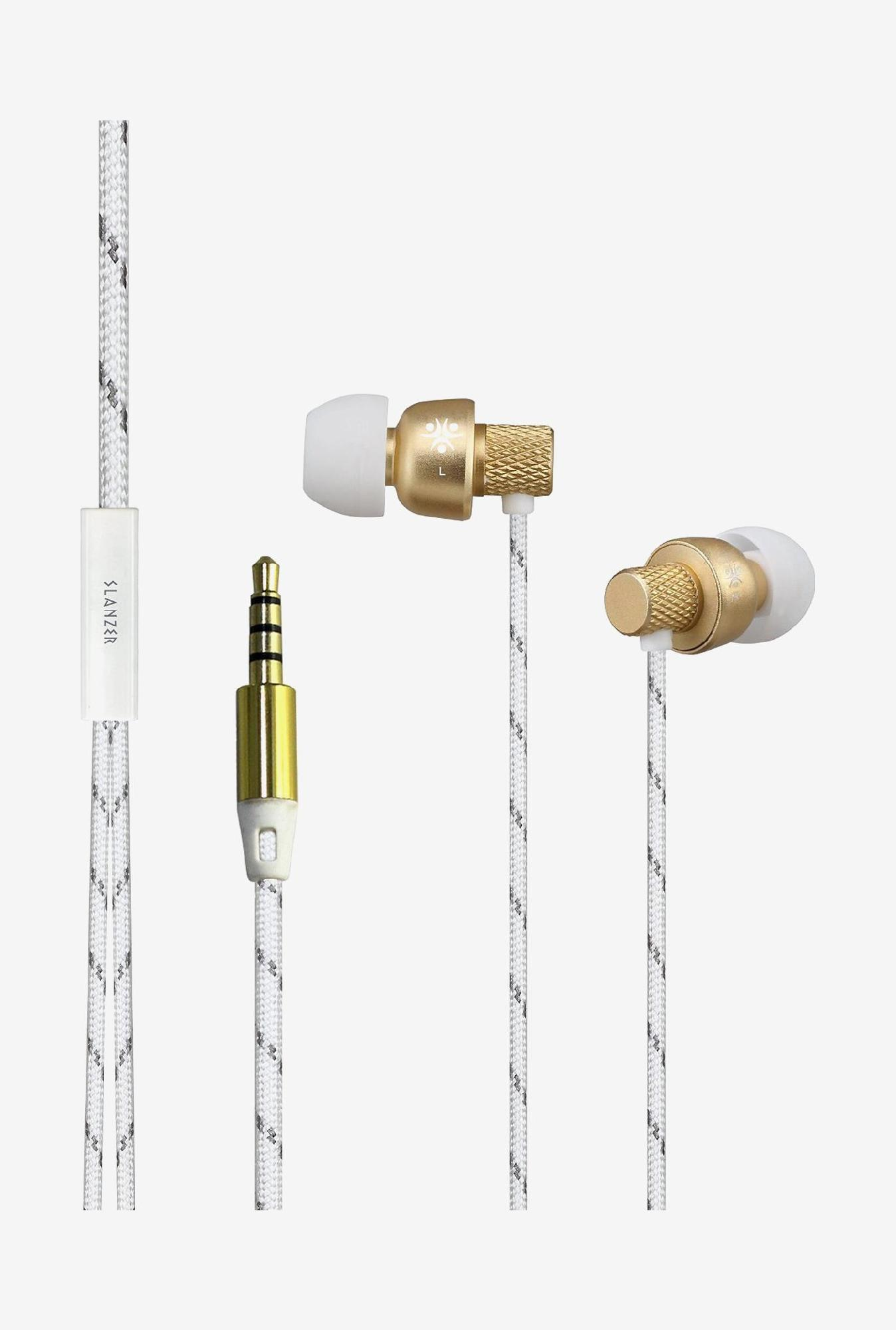 Slanzer SZEN205 In the Ear Headphone (Gold)