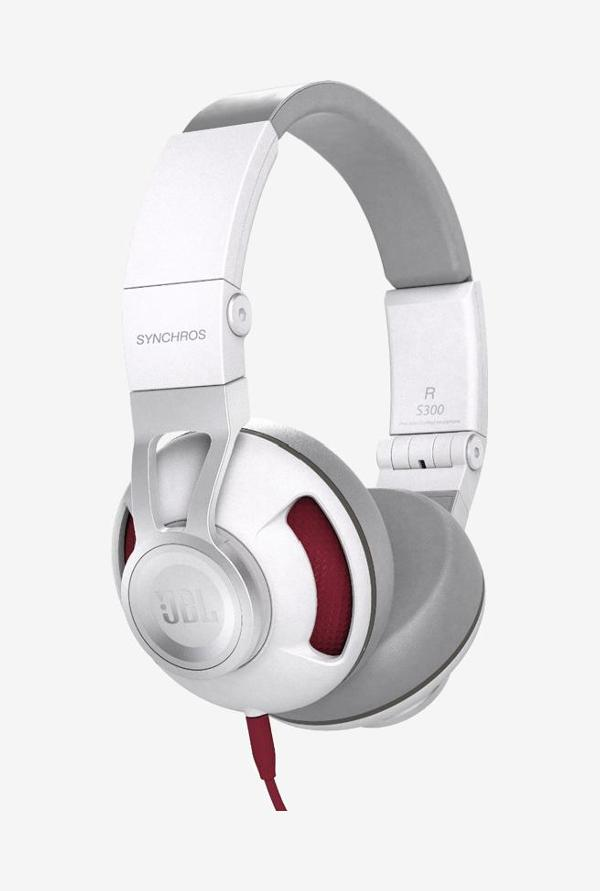 JBL Synchros S300a On The Ear Headphones (Red)