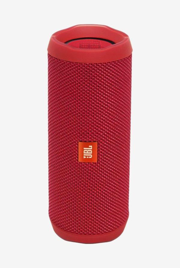 JBL FLIP 4 16 Watts Bluetooth Speaker (Red)