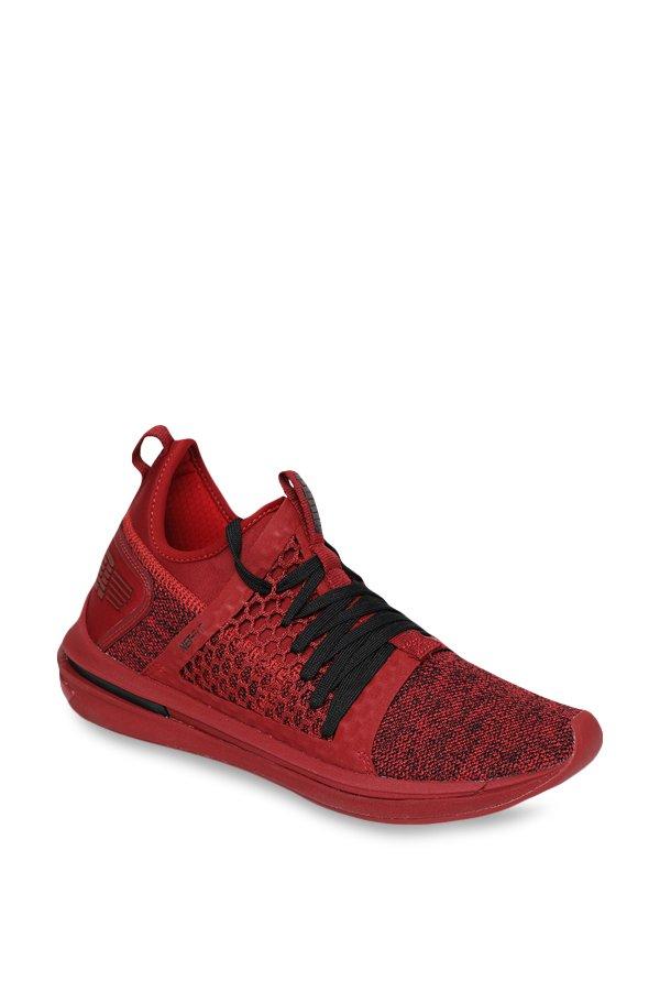 Buy Puma Ignite Limitless SR Netfit Red Dahlia Training Shoes for ... 4c0ce2e44
