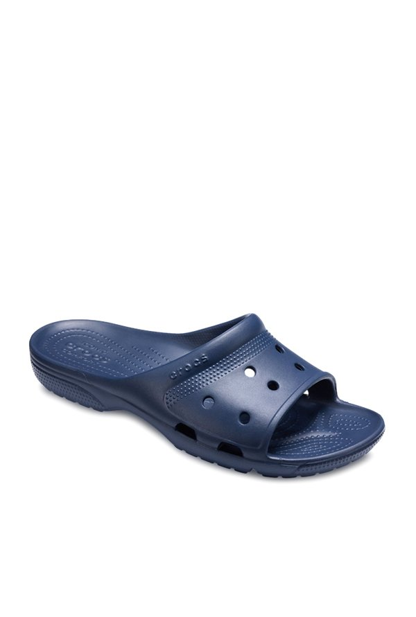 3f8363b7d Buy Crocs Coast Navy Casual Sandals for Men at Best Price   Tata CLiQ