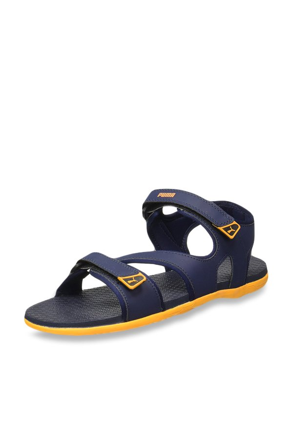 72f141fa578694 Buy Puma Elego 2 IDP Peacoat Floater Sandals for Men at Best Price ...
