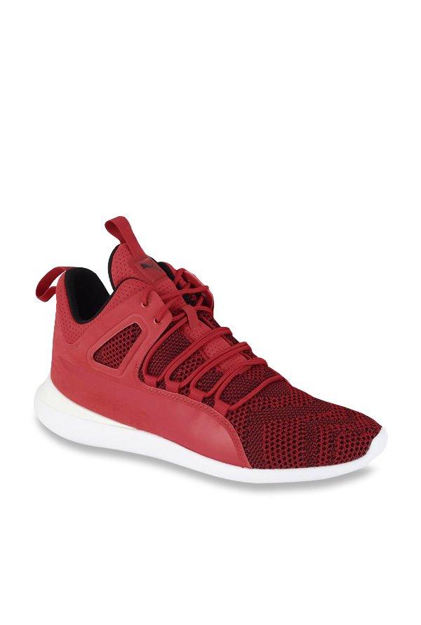 a3f3dfd024b7 Buy Puma Ferrari SF Evo Cat Mid Rosso Corsa Ankle High Sneakers for Men at Best  Price   Tata CLiQ