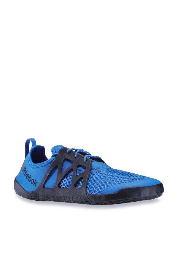 c0186729a55e58 Buy Reebok Aqua Grip TR Blue   Black Training Shoes for Men at ...
