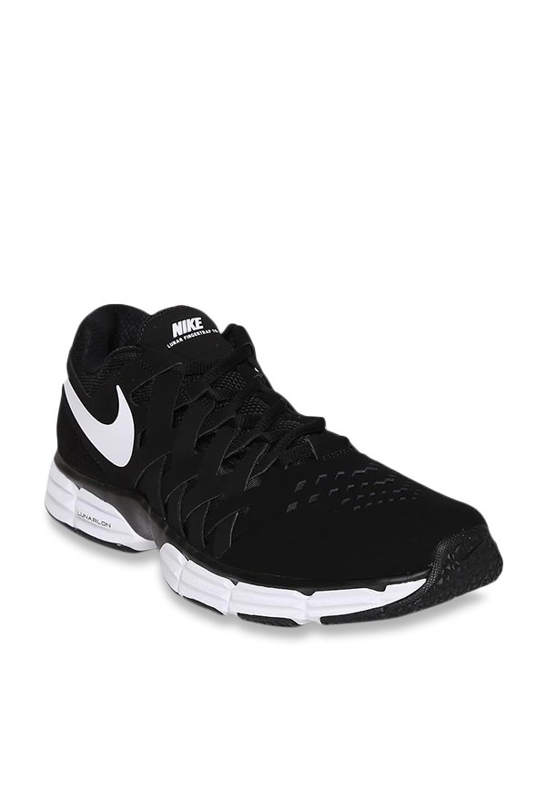 bdb50836c56c Buy Nike Lunar Fingertrap TR Black Training Shoes for Men at Best Price    Tata CLiQ