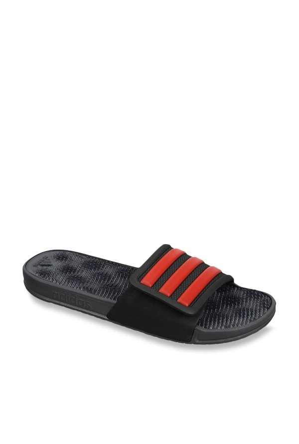 512f7b645d88 Buy Adidas Adissage 2.0 Black   Red Casual Sandals for Men at Best Price    Tata CLiQ
