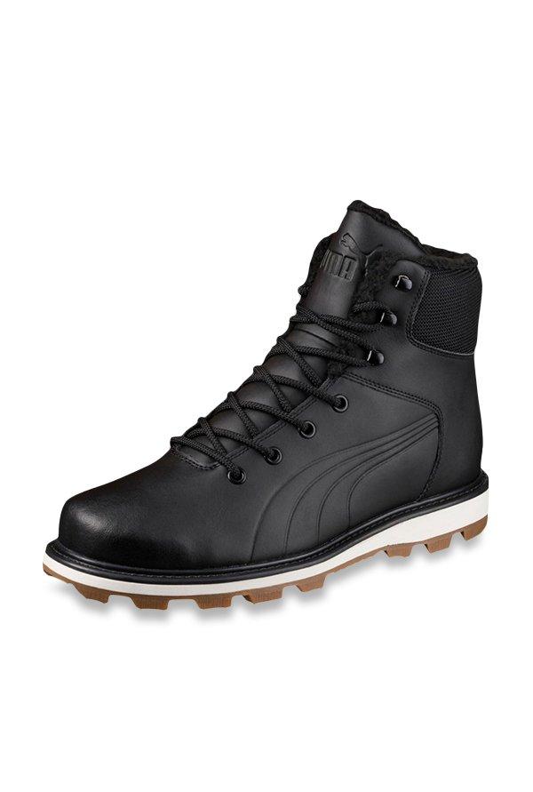 e1c38682cd1 Buy Puma Desierto Fun L Black Winter Boots for Men at Best Price   Tata CLiQ