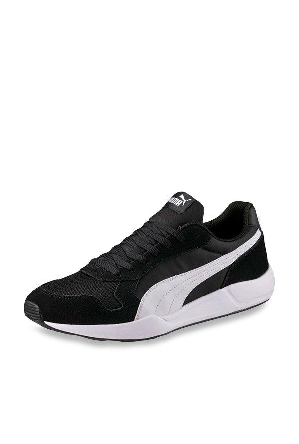 Buy Puma ST Runner Plus Black Running Shoes for Men at