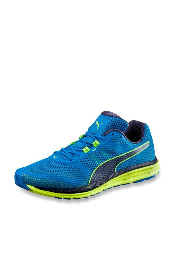 9bffbc3861f Buy Puma Speed 500 Ignite Electric Blue Running Shoes for Men at Best Price    Tata CLiQ